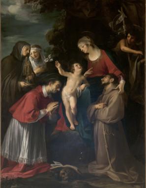 28 Francesco Rustici pala di s. Carlo pienza